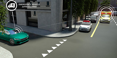 Singapore smart vision for vehicle approching