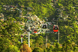 Medellín is becoming famous for innovative sustainable transport