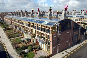 Building Integrated Photovoltaic - Energy efficient smart buildings