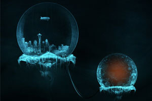 Can Human Evolve to Live in The Submerged Smart City?