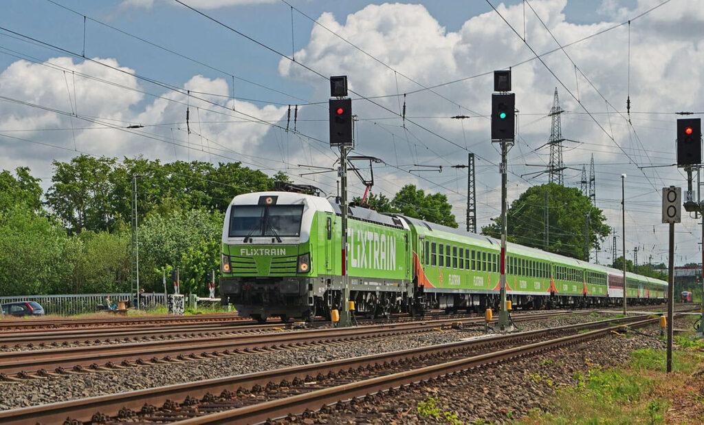 Solar-powered Train: An Eco-friendly Mode of Transportation
