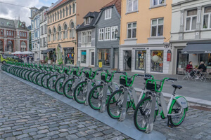 Extending Bicycle Infrastructure To Create Bike-Friendly City