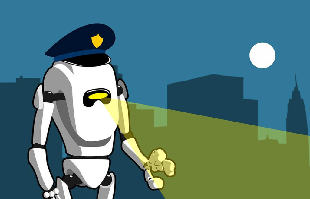 The Rise Of Police Robots In Smart Cities